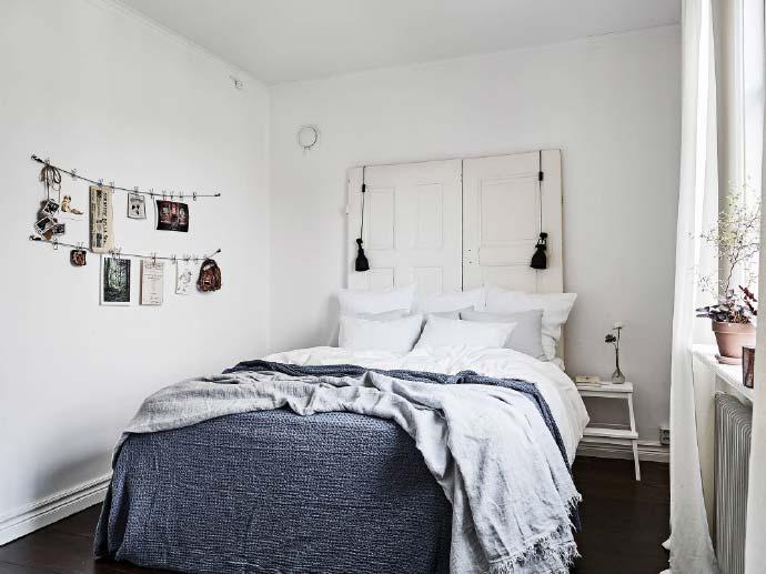创意床头板设计实景图