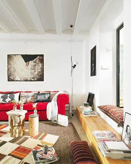 简约风格客厅设计平面图