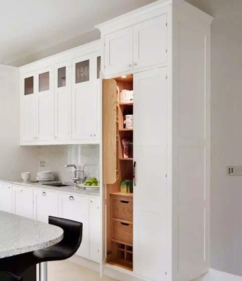 厨房收纳柜设计平面图