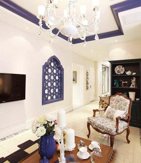 客厅吊顶装修装饰效果图