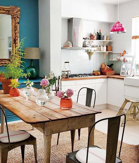 北欧风格厨房装修装饰图片