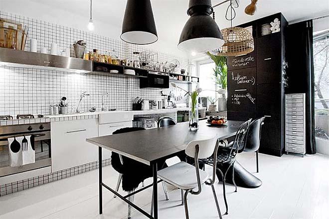 北欧风格厨房设计图片大全