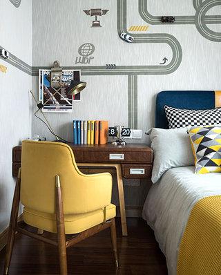 125平中式风格样板房儿童房设计