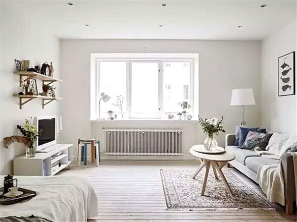 小户型大开间公寓设计图