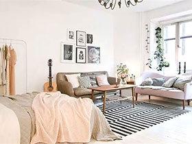 12个小户型单身公寓效果图 空间最大化利用