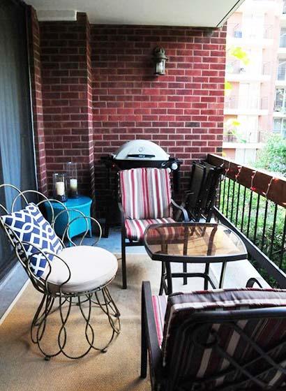 阳台花园设计装饰图
