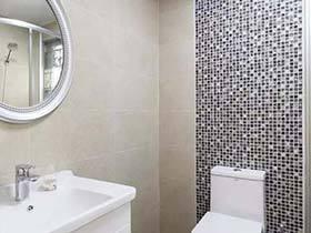 闪闪亮点  10款卫生间马赛克背景墙图片