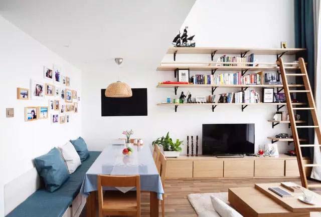 电视背景墙布置欣赏图