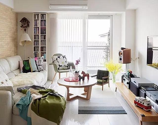 小户型客厅设计平面图