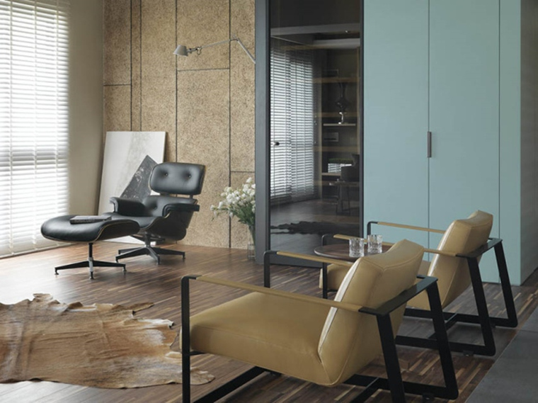 150平简约风格两居室客厅单人沙发图片