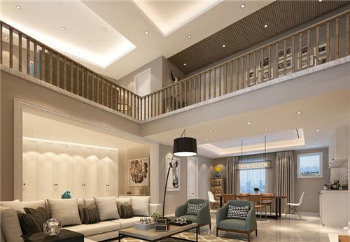 现代简约别墅装修效果图 极简之处尽显奢华