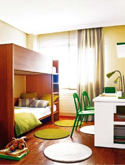 色彩儿童房装修图片大全