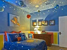 宝宝的温馨暖窝  10款色彩儿童房装修图片