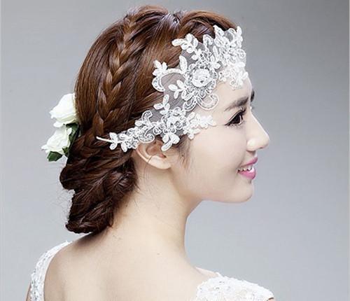 创意新娘造型图片盘点 2017如何打造新娘专属别致发型