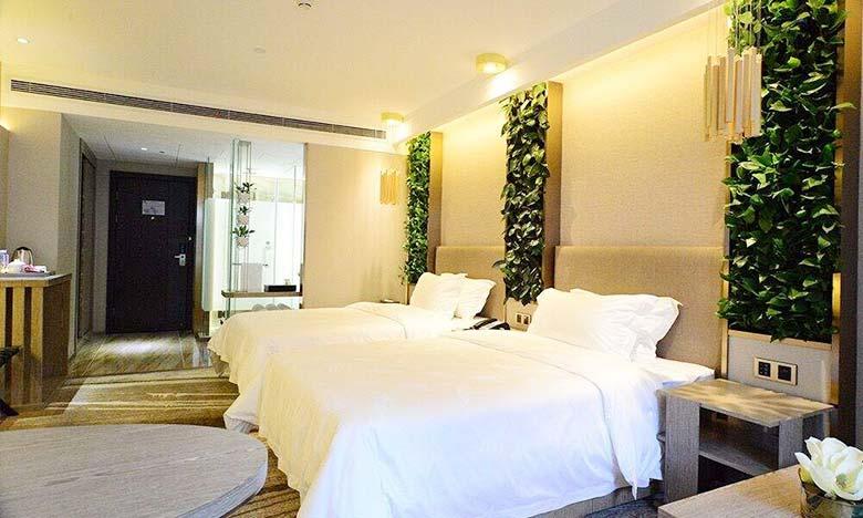 植物卧室设计装修实景图