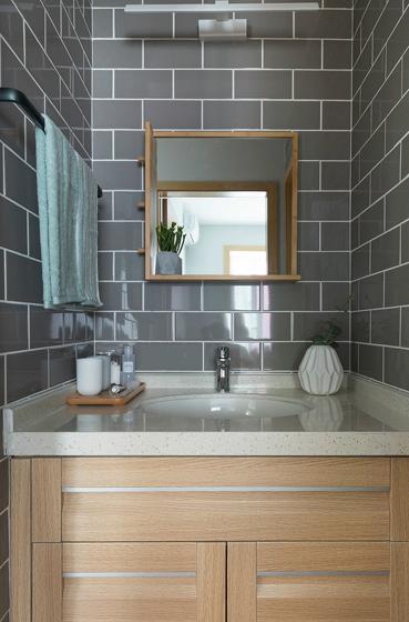 60平小户型装修效果图洗手台设计
