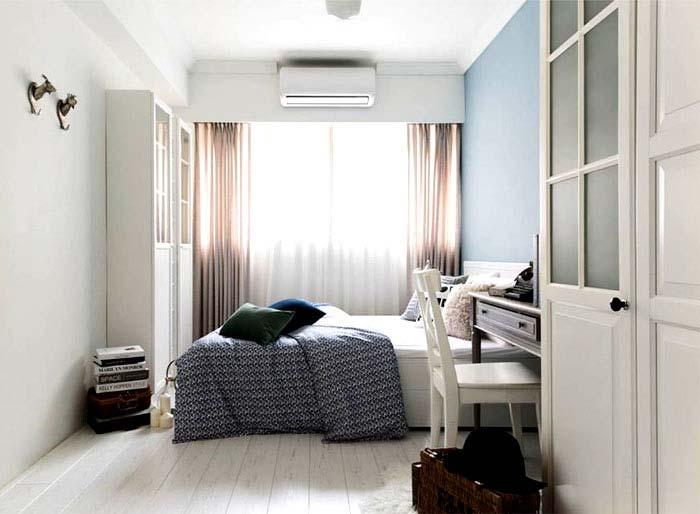 92㎡北欧风三居室装修平面图