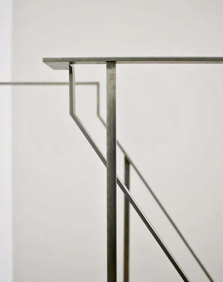 楼梯扶手转角装修装饰效果图
