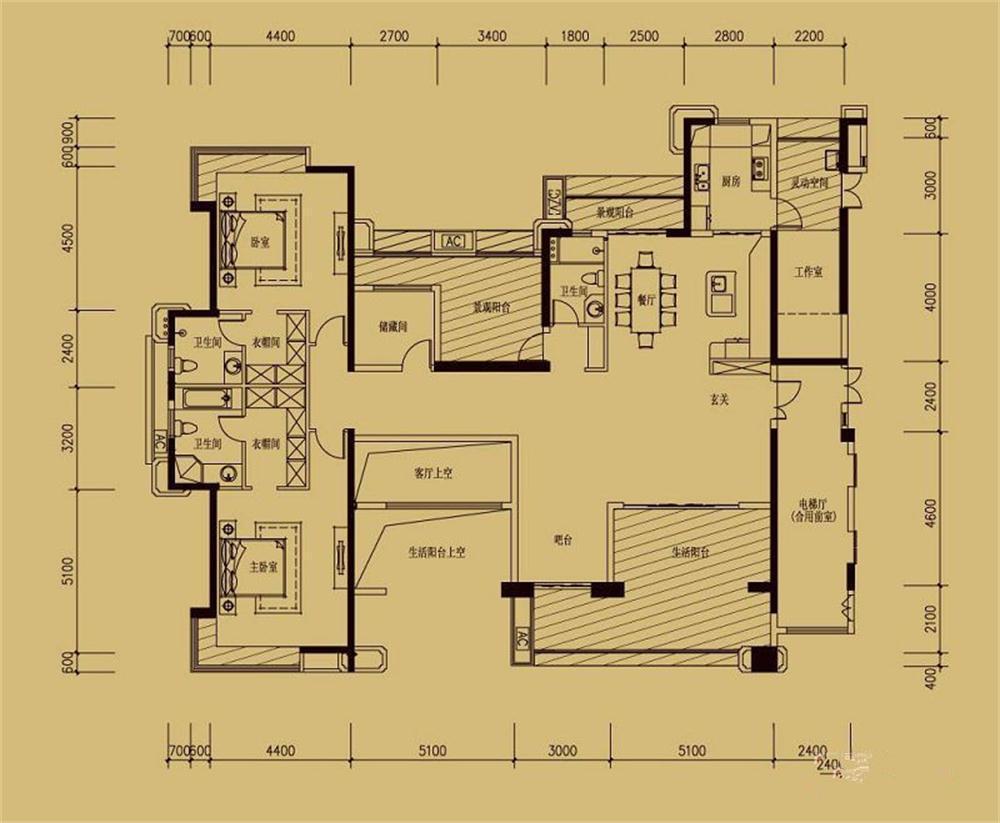 装修效果图,邦明装饰 美韵家园 现代装修案例效果图