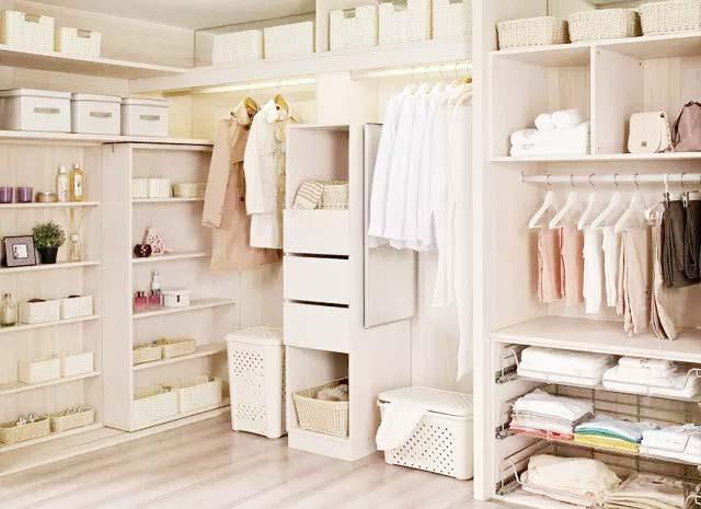 衣柜收纳装修装饰效果图