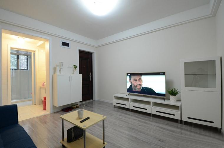 60平小户型装修小客厅效果图