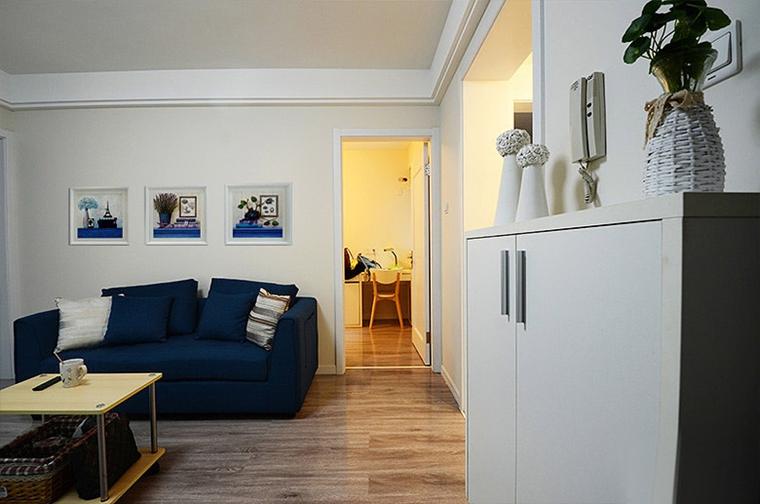 60平小户型装修客厅背景墙设计图