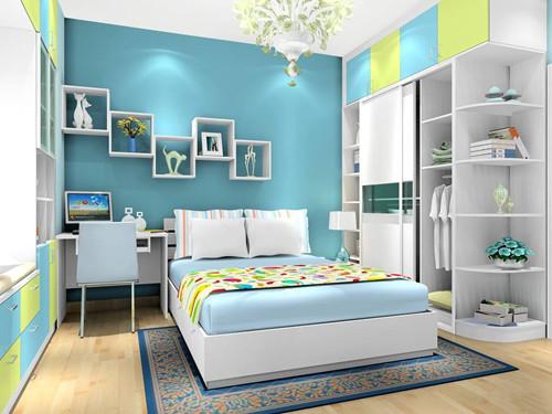 12平方米卧室装修图 打造与众不同的小卧室_按空间