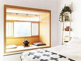 增加了一点点空间  10款卧室飘窗装修图