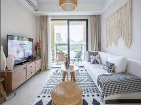 90平美式乡村风格两居室装修 自然的味道