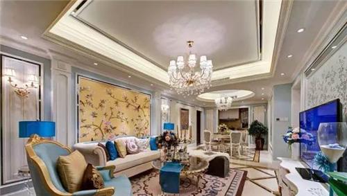 客厅吊顶灯带效果图 四款精致灯带装修让家熠熠生辉图片