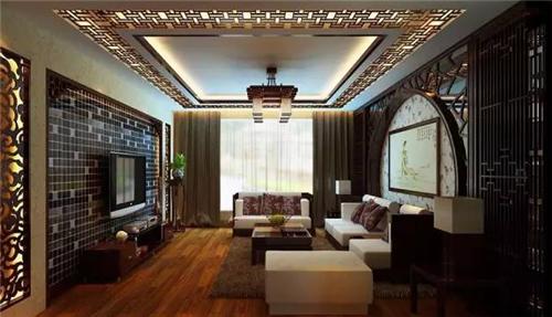 客厅吊顶灯带效果图 四款精致灯带装修让家熠熠生辉