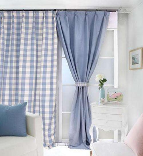地中海式窗帘效果图 装扮你的居室图片