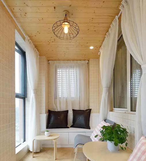 室内阳光房设计实景图