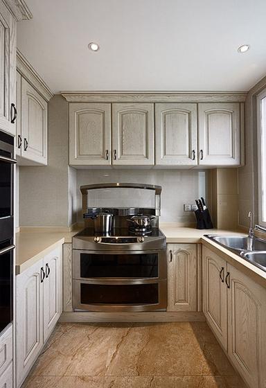 20万装简欧风格三居室厨房效果图