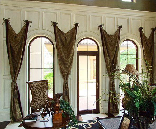 美式风格窗帘特点 美式风格窗帘要如何搭配图片