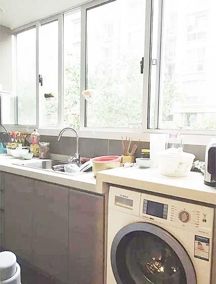 厨房洗衣机图片大全