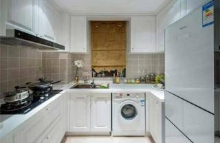 厨房洗衣机设计摆放图