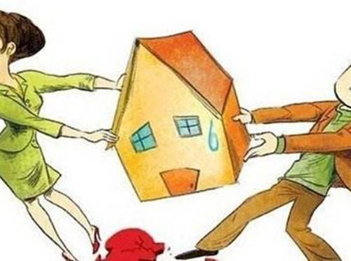 财产离婚父母分配各类离婚美术分配细则高中财产水彩画图片图片