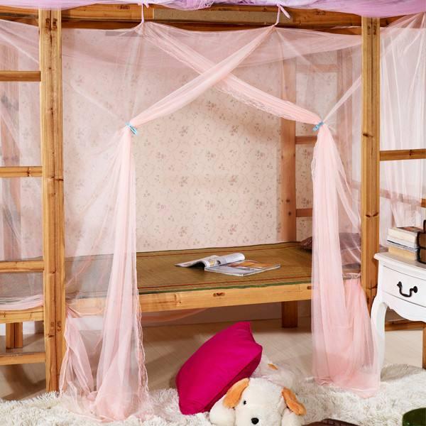 上下铺的蚊帐怎么选 上下铺蚊帐的安装方法