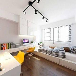一居室卧室设计装饰图片