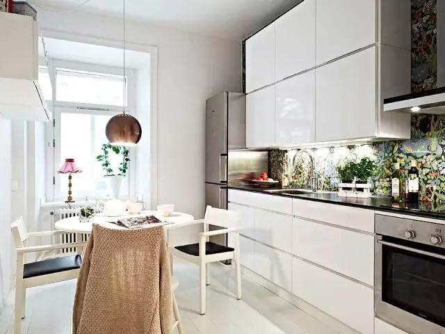 开放式厨房设计欣赏图