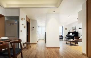 90㎡混搭二居室走廊平面图