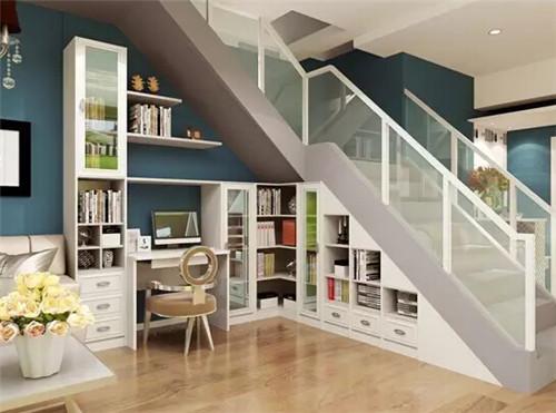 楼梯柜装修效果图 楼梯柜设计注意事项