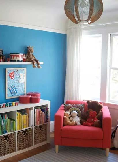 客厅书架墙设计欣赏图