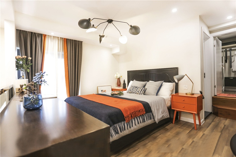 40平loft装修卧室效果图