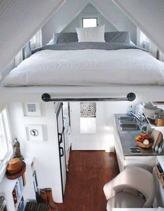 小户型卧室设计构造图