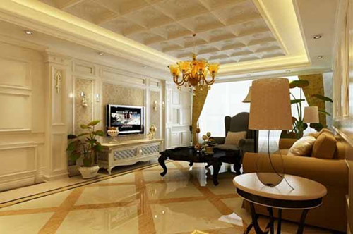 美式装修客厅效果图 让你瞬间爱上美式风格客厅