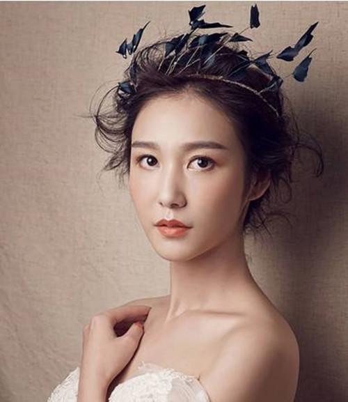 妆容图片 韩式新娘妆面特点描述