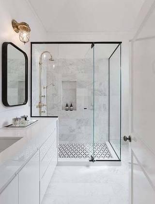 小户型浴室装修装饰效果图_齐家网装修效果图
