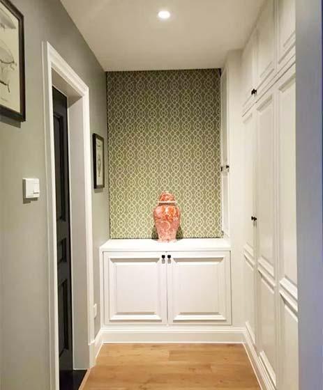 走廊装饰柜设计造型图